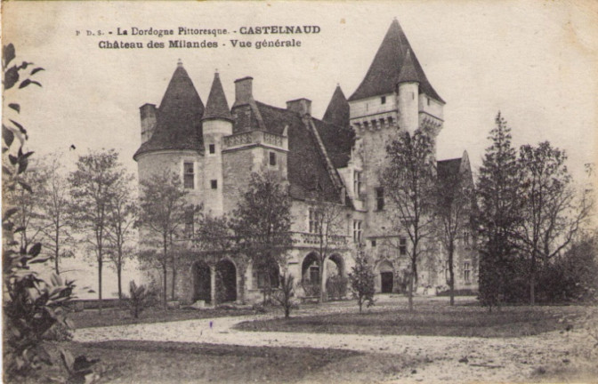 The castle 1898: The first transformation since being abandoned: the arcade gallery has disappeared.