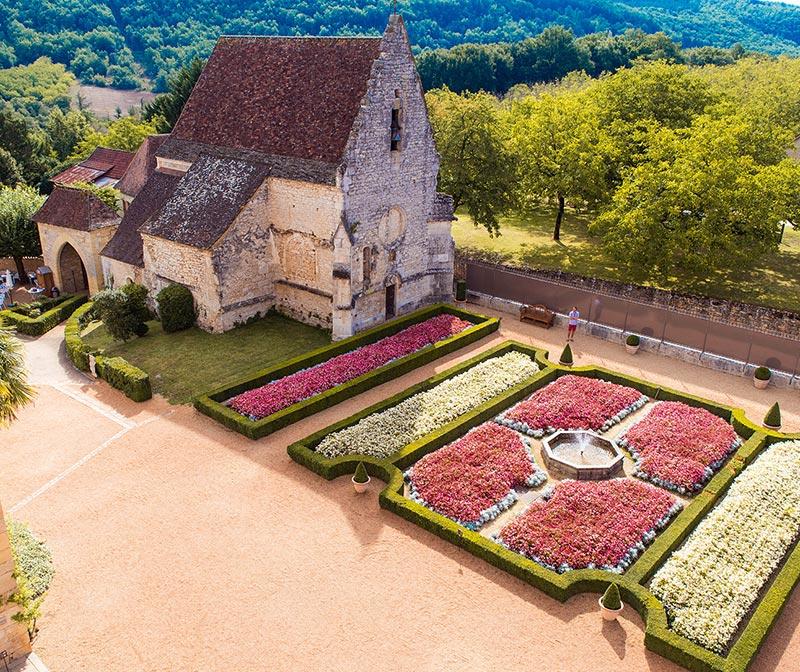 Chapelle du château des Milandes.