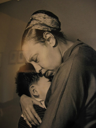 A mother's love for one of her children: She was first and foremost a Mum.