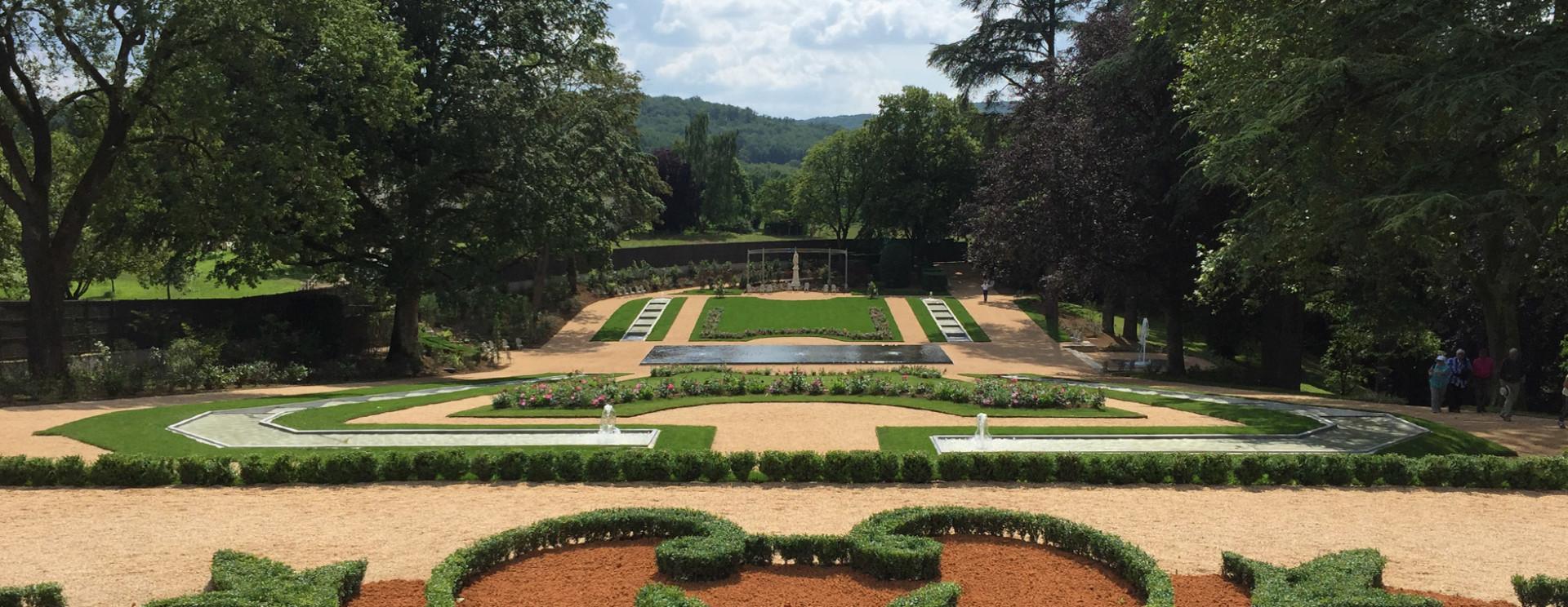Le Jardin et le Parc   Le Château et jardins des Milandes